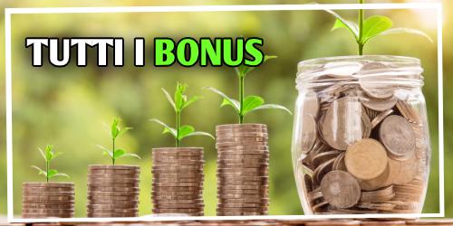 Tutti i bonus